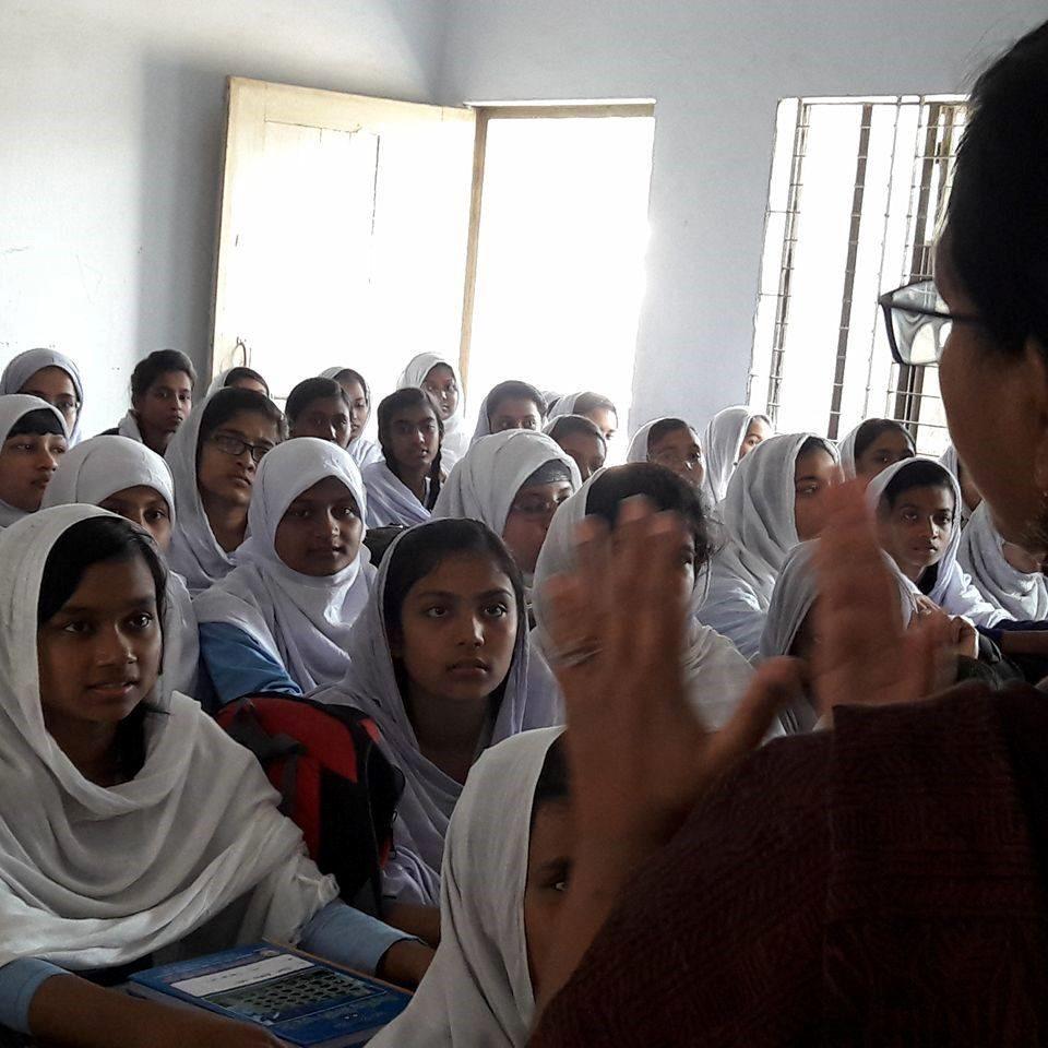 Raise Awareness For Feminine Hygiene with CARE Bangladesh and UNICEF